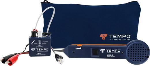 Vezetékvizsgáló kábelteszter és hanggenerátoros vezetékkereső RJ11/RJ45 max. 10 km vezetékhosszig Greenlee 601K-G-BOX