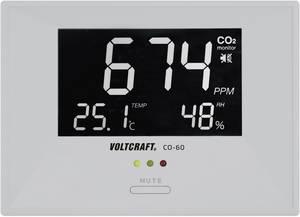 Széndioxid CO2 mérő, levegőminőség mérő műszer Voltcraft CO-60 VOLTCRAFT