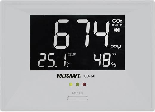 Széndioxid CO2 mérő, levegőminőség mérő műszer Voltcraft CO-60