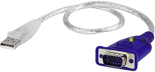 VGA / USB Átalakító [1x VGA dugó - 1x USB 2.0 dugó, A típus] Átlátszó ATEN