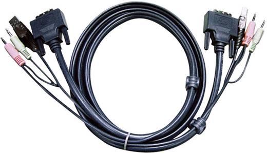 DVI D kábel KVM-hez 1,8 m, 2L-7D02U