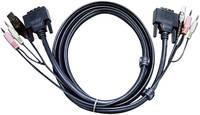 DVI D kábel KVM-hez 3 m, 2L-7D03U (2L-7D03U) ATEN