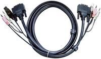 KVM kábel DVI DUAL LINK 3 m, 2L7D3UD (2L-7D03UD) ATEN