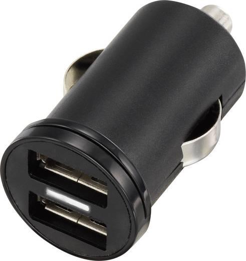 Szivargyújtós USB töltő, 2 x USB, VOLTCRAFT CPS-2400/2