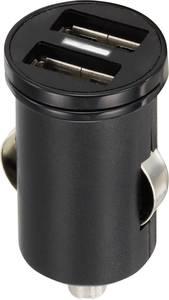 Szivargyújtós USB töltő, 2 x USB, VOLTCRAFT CPS-2400/2 VOLTCRAFT
