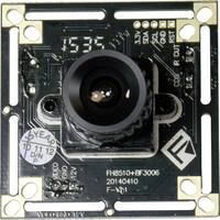 Színes panelkamera 3,6 mm-es (1/4) CMOS, felbontás 720 x 576 pixel, Tru Components Conrad Components