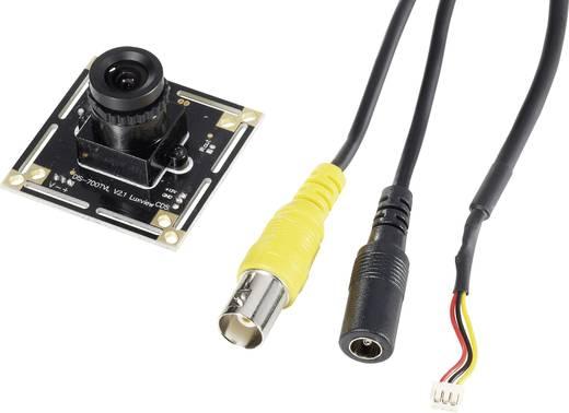 Színes panelkamera 3,6 mm-es (1/4) CMOS, felbontás 720 x 576 pixel, Conrad