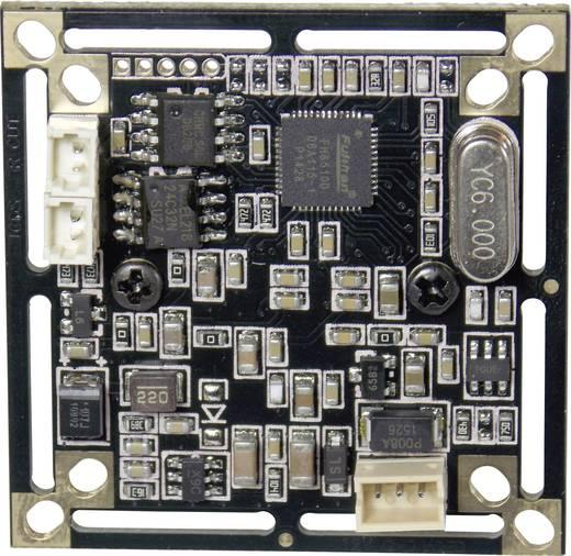 Színes panelkamera 3,6 mm-es (1/4) CMOS, felbontás 720 x 576 pixel, Tru Components