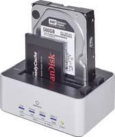 Merevlemez dokkoló állomás, klónozó funkcióval, Renkforce USB 3.0 SATA Renkforce
