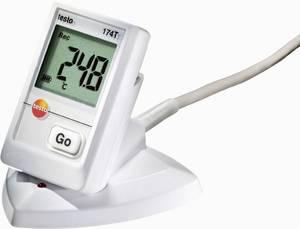 Hőmérséklet mérés adatgyűjtő állomás 16000 adat tárolással -30 tól +70 °C-ig Testo 174T testo