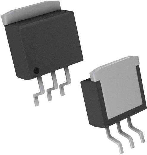 PMIC - feszültségszabályozó, lineáris (LDO) Texas Instruments UC282TDKTTT-ADJ Pozitív, fix vagy beállítható TO-263-5