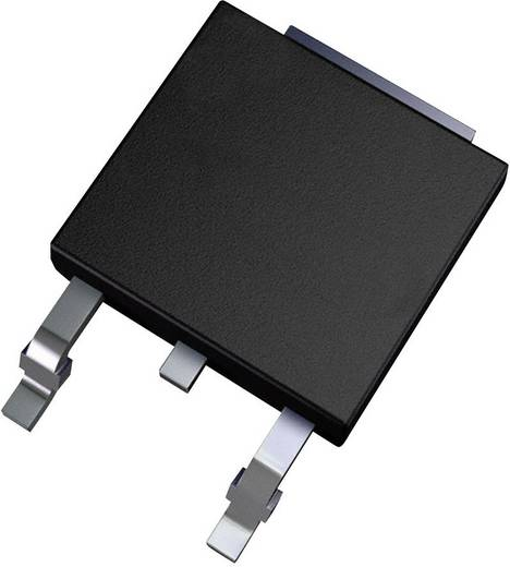 PMIC - feszültségszabályozó, lineáris (LDO) Texas Instruments LMS8117ADT-3.3/NOPB Pozitív, fix TO-252-3
