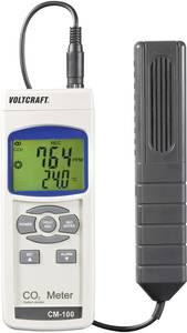 Széndioxid CO2 mérő, levegőminőség mérő kéziműszer Voltcraft CM-100 VOLTCRAFT