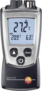 Infra hőmérő, távhőmérő és levegő, gáz hőmérő egyben 6:1 optikával -30-tól +300 °C-ig Testo 810 testo