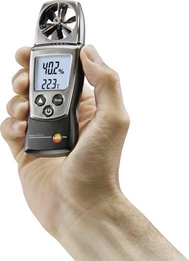 Légáramlásmérő, anemométer 0,4...20 m/s, testo 410-2