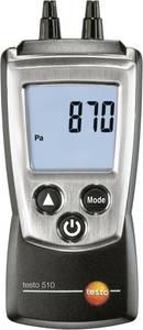 Differenciál nyomás mérő, nyomáskülönbség mérő műszer 0 - 100 hPa testo 510 testo