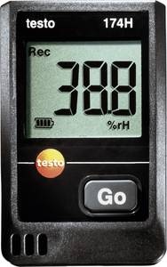 Hőmérséklet és páratartalom mérő és adatgyűjtő 16000 adat tárolással -20 tól +70 °C, 0.1 °C Testo 174TH testo