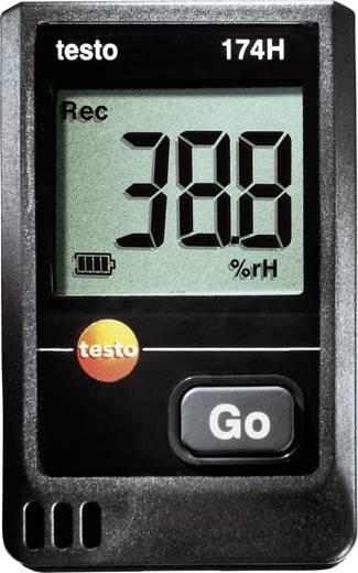 Hőmérséklet mérés adatgyűjtő 16000 adat tárolással -20 tól +70 °C, 0.1 °C Testo 174TH