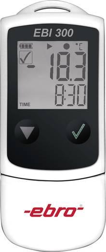Hőmérséklet adatgyűjtő, -30 ... +60 °C, 0.1 °C, ebro EBI 300