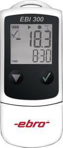Hőmérséklet adatgyűjtő, -30 ... +60 °C, 0.1 °C, ebro EBI 300 ebro
