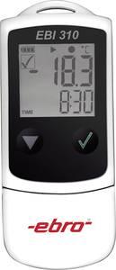USB-s hőmérséklet mérés adatgyűjtő, GMP-/HACCP-/IFS szabványú 120000 adat tárolással -30-tól +75 °C-ig ebro EBI 310 ebro