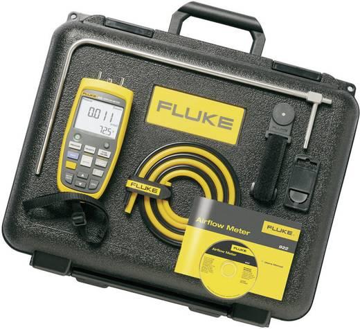 Levegő áramlás mérő, anemométer készlet tároló kofferben 1-80 m/s Fluke 922