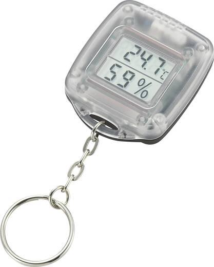 Hő és páratartalom mérő, kulcstartós, KHT-1