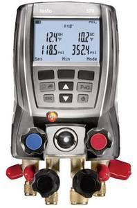 Digitális szervizcsaptelep, hűtőközeg mérőfej, Testo 570-1 testo