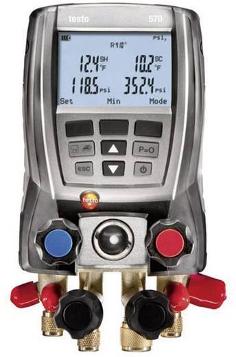 Hűtőközeg mérőfej Testo 570-1 készlet