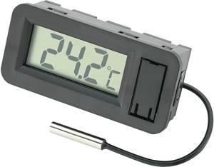Beépíthető LCD hőmérő modul, panelműszer, elemes hőmérő -50...+70 °C-ig Basetech BT-80 Basetech