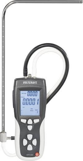Torlócsöves légsebesség mérő, anemométer Voltcraft VPT-100