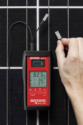 Benning SUN 2 Napfény besugárzás mérő, napfény mérő és hőmérséklet mérő műszer