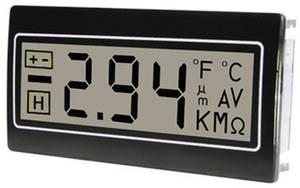 Digitális panelműszer, panelméter 200mV 22,2x45mm TDE DPM961-R TDE Instruments