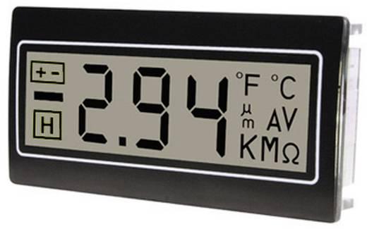 Digitális panelműszer, panelméter 200mV 22,2x45mm TDE DPM961-R