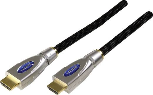 HDMI csatlakozókábel [1x HDMI dugó 1x HDMI dugó] 5 m fekete Schwaiger