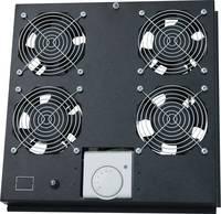 """19 """" 4 x Hálózati szekrény ventilátor LogiLink FAS122B Fekete (FAS122B) LogiLink"""
