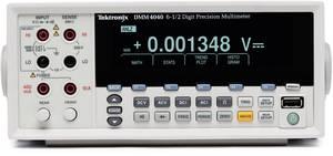 Tektronix DMM4040 Asztali multiméter digitális CAT II 600 V Kijelző (digitek): 200000 Tektronix