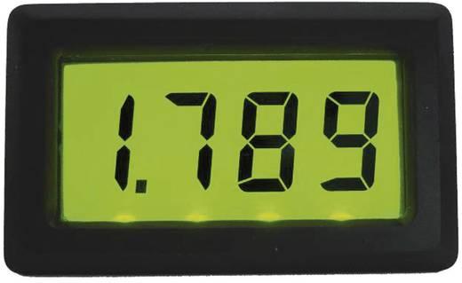 Digitális panelműszer, feszültségmérő, voltmérő modul, LED háttérvilágítással 0 - 19,99 V/DC Beckmann & Egle EX3070