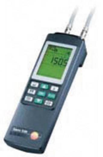 Hőmérséklet, páratartalom és nyomáskülönbség mérő műszer, hygrométer Testo 521-3