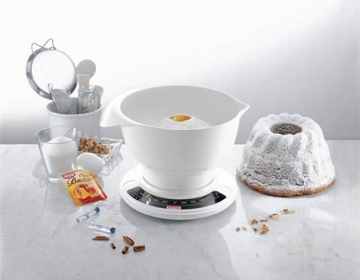 Analóg konyhai mérleg, fehér, Soehnle 65054 Culina Pro