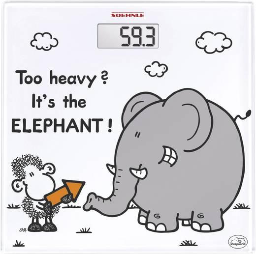 Digitális személymérleg, max. 180 kg, Soehnle Sheepworld too heavy