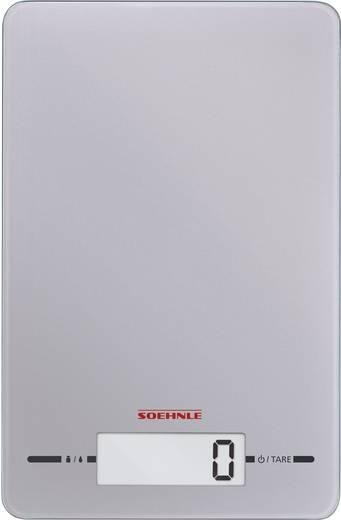 Digitális konyhai mérleg, ezüst, Soehnle Page Evolution 66179
