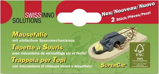 Egércsapda fából, 2 részes készlet, Swissinno SuperCat 1 783 090