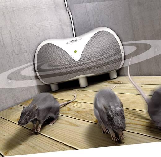 Ultrahangos rágcsálóriasztó, patkány-, egér- és nyestriasztó, Swissinno 1 227 001