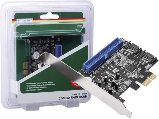 PCI Express kombo kártya, SATA III / PATA, Digitus