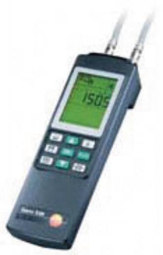 Nyomáskülönbség mérő, hőmérséklet és páratartalom mérő műszer Testo