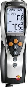 Hőmérséklet és páratartalom mérő kézi műszer, adatgyűjtő funkció, Testo 635-2 testo