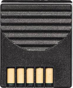 Rádiójel vezérlésű egység műszerhez, 869,85 MHz FSK, Alkalmas 3 csatornás hőmérsékletmérő műszer, TE K/T/J/S/Pt100 típus (0554 0188) testo