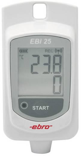 Hőmérséklet adatgyűjtő ebro EBI 25-T Mérési méret Hőmérséklet -30 - 60 °C Kalibrált Gyári standard (tanusítvány nélkül)