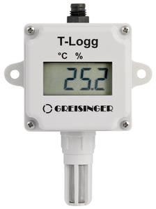 Hőmérséklet és páratartalom adatgyűjtő, -25...+60 °C 0...100 % rF 16000 mérés, Greisinger T-Logg 160 SET Greisinger